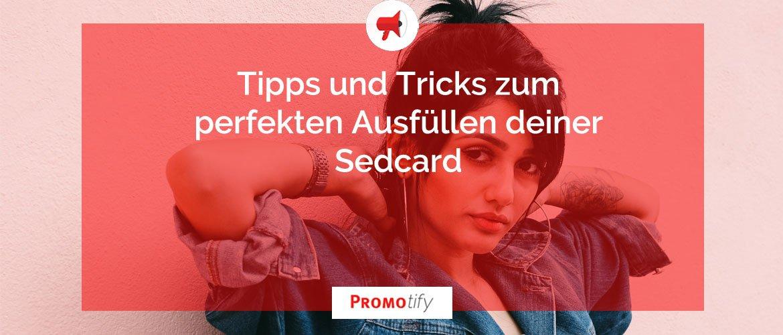 Sedcard blog